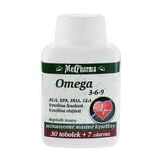 MedPharma Omega 3-6-9 30 tob. + 7 tob. ZDARMA