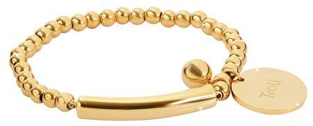 Troli Elegantna zlata zapestnica