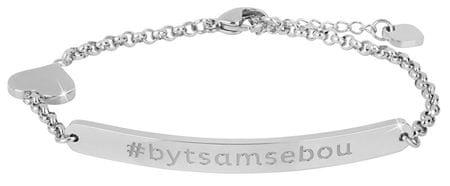 Troli Acél karkötő #bytesamsebou (rövidebb)
