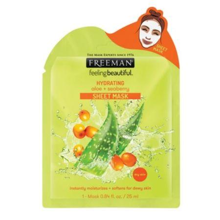Freeman (Hydrating Sheet Mask) Aloe Vera és hidratáló (Hydrating Sheet Mask) 25 ml
