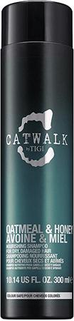 Tigi Odżywczy szampon do suchych, zniszczonych włosów Catwalk owsiany i miód (Nourishing Shampoo) (objęto