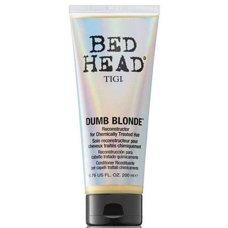 Tigi Kondicionáló kémiailag kezelt szőke hajhoz Bed Head Dumb Blonde (Reconstructor) (mennyiség 200 ml)