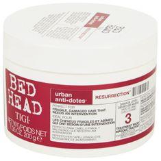 Tigi Maska regeneracyjna dla słabych i zestresowanych włosów Zmartwychwstanie Bed Head (Treatment Mask) 2