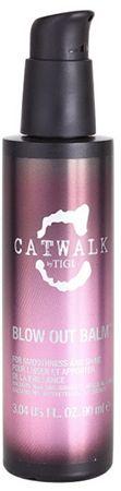 Tigi Simítása balzsam kezelhetetlen hajra és krepatějící Catwalk (Blow Out Balm) 90 ml