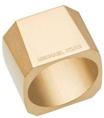 Michael Kors Masszív aranyozott gyűrű MKJ5832710