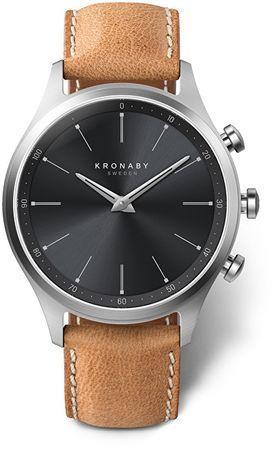 Kronaby Vodotěsné Connected watch Sekel S3123/1