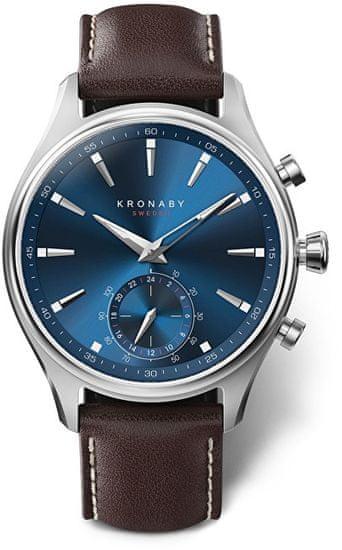 Kronaby Vodotěsné Connected watch Sekel S3120/1