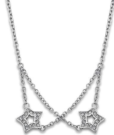 Lotus Style Hvězdičkový náhrdelník s krystaly LS1885-1/1