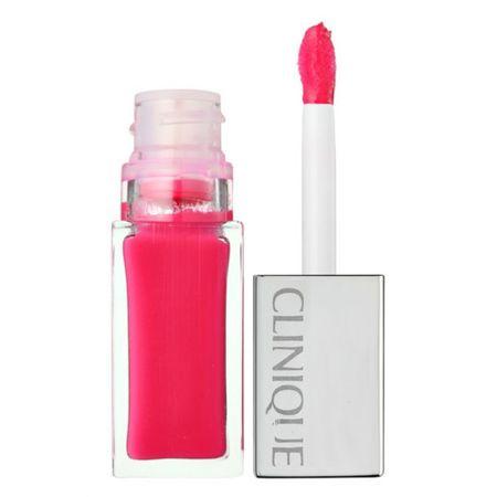 Clinique Liquid ajakrúzs + basecoat pop lakkozó (Lip Colour + Primer) 6 ml (árnyalat 08 Peace Pop)
