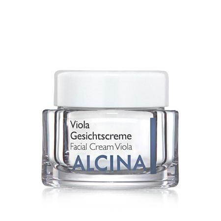 Alcina Vyživujúce a upokojujúci krém pre vysušenú pleť Viola (Facial Cream Viola) (Objem 100 ml)