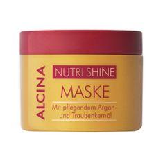 Alcina Maska do włosów zniszczonych i suchych Nutri Shine ( Hair Mask) 200 ml