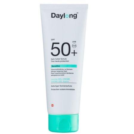 Daylong SPF 50+ Sensitiv e fényvédő zselé krém 100 ml-rel