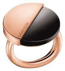 Calvin Klein Luxusné pozlátený prsteň Spicy KJ8RBR1401