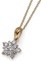 Oliver Weber Aranyozott csillag nyaklánc Subtle 61137G ezüst 925/1000