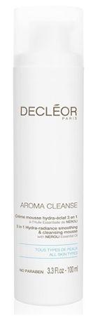 Decléor Vyhlazující a čisticí pěna 3 v 1 Aroma Cleanse (3in1 Hydra-Radiance Smoothing & Cleansing Mousse) 10