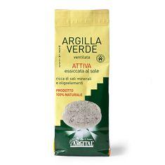 """Argital Aktivní zelený jíl vysušený sluncem """"Ventilated"""" 500 g"""