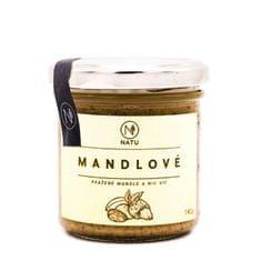Natu Mandľové maslo pražené 140 g