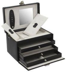 Friedrich Lederwaren Črna škatla za nakit Budimpešta 26125-2
