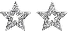 Hot Diamonds Strieborné hviezdičkové náušnice Micro Bliss DE554 striebro 925/1000