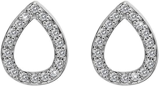 Hot Diamonds Strieborné náušnice slzičky Micro Bliss DE555 striebro 925/1000
