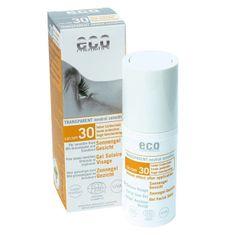 Eco Cosmetics Opaľovacie transparentný gél na tvár SPF 30 (30 ml)