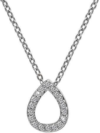 Hot Diamonds Naszyjnik Silver Blind z Micro Bliss DP695 srebro 925/1000