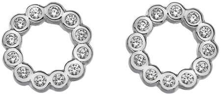 Hot Diamonds Svetleči uhani Emozioni Innocence EE030 srebro 925/1000