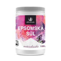 Allnature Epsomská soľ materina dúška 1000 g