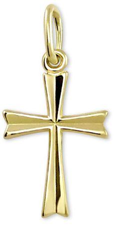 Brilio Zlatý přívěsek Křížek 242 001 00013 10 - 0,45 g zlato žluté 585/1000