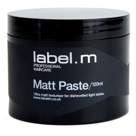 label.m Mattító hajformázókrém (Matt Paste) (mennyiség 120 ml)