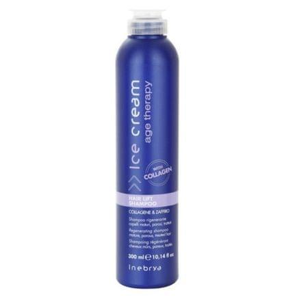 Inebrya Regeneračný šampón pre zrelé a chemicky ošetrované vlasy Ice Cream Age Therapy ( Hair Lift Shampoo)
