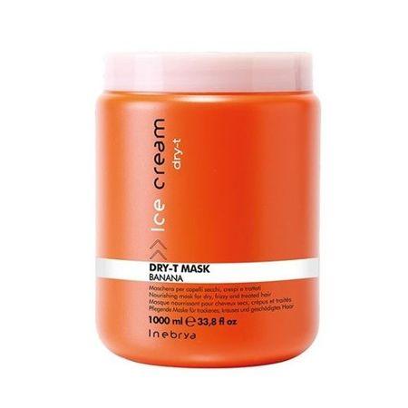 Inebrya Maska do suchych i zniszczonych włosów Ice Cram Dry-T (Mask) 1000 ml