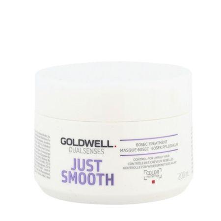 GOLDWELL Dualsenses Dualsenses Just Smooth (60 SEC Treatment Mask) tisztító (60 SEC Treatment Mask) 200 ml