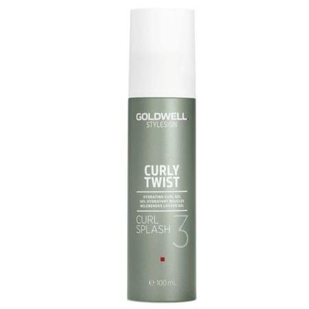 GOLDWELL Hidratáló gél definiálására hullám StyleSign Curl y (Twist Curl Splash Hydrating Gel) 100 ml