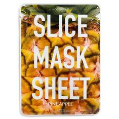 Kocostar Posilující plátková maska Ananas (Slice Sheet Mask) 20 ml