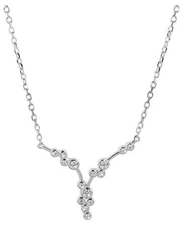 Silver Cat Nežný náhrdelník so zirkónmi SC287 striebro 925/1000