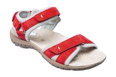 SANTÉ Zdravotná obuv dámska MDA / 157-32 Red