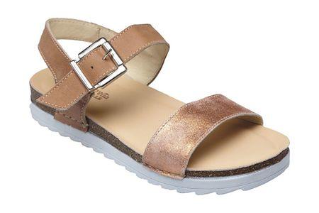 SANTÉ Zdravotná obuv dámska GI / 08015 hnedá (Veľkosť vel. 37)