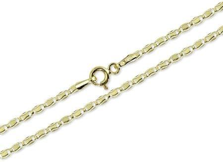Brilio Zlata zapestnica za ženske 19 cm 261 115 00250 rumeno zlato 585/1000