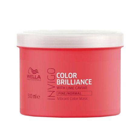 Wella Professional Invigo Color Brilliance hajmaszk vékonyszálú festett hajra (Vibrant Color Mask) (mennyiség 30 ml)