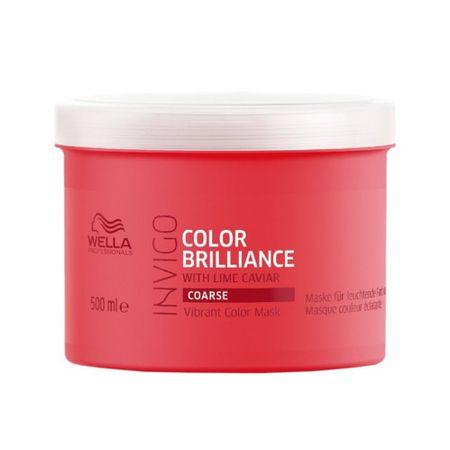Wella Professional Invigo Color Brilliance hajmaszk vastag szálú festett hajra(Vibrant Color Mask) (mennyiség 30 ml)