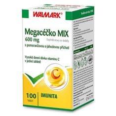 Walmark Megacéčko 600 mg MIX 100 tbl.