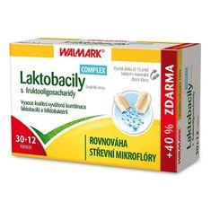 Walmark Laktobacily Complex s fruktooligosacharidy 30 tob. + 12 tob. ZD ARMA