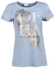 Deha Koszulka damska z krótkim rękawem B84150 Dusty Blue