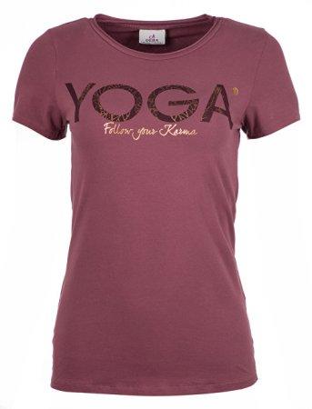 93f70da11870 Deha Dámske tričko T-Shirt B84670 Rose Taupe (Veľkosť M)