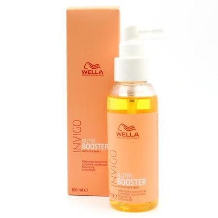 Wella Professional Invigo Nutri Booster tápláló hajápoló spray száraz és károsodott hajra (Nourishing Concentrate) 100