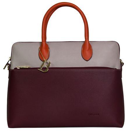 5e16a28ebf291 Bulaggi Torebka damska torba na Abby laptop 30639 Burgundy