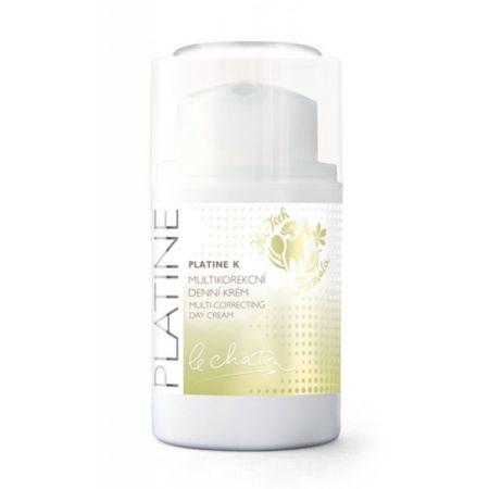 Le Chaton Multikorekční denný krém PLATINE K (Multi-Correcting Day Cream) 50 g