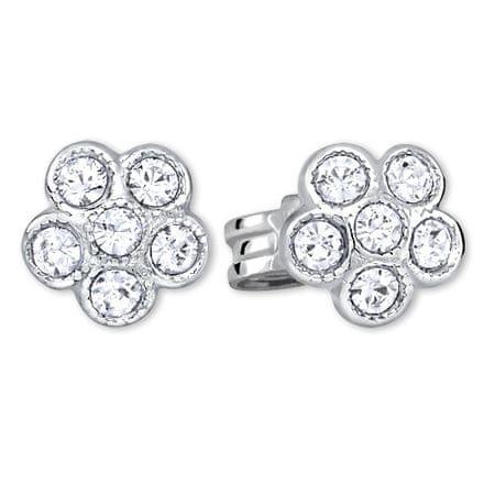 Brilio Silver Ezüst virág fülbevalók 438 001 01258 04 ezüst 925/1000
