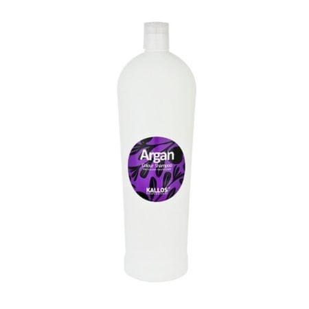 Kallos Szampon do włosów farbowanych Argan (Colour Shampoo) (objętość 1000 ml)